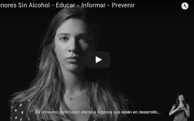 Menores sin alcohol. La nueva campaña del Ministerio de Sanidad